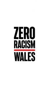 Zero Racism Wales White 1080x1920px